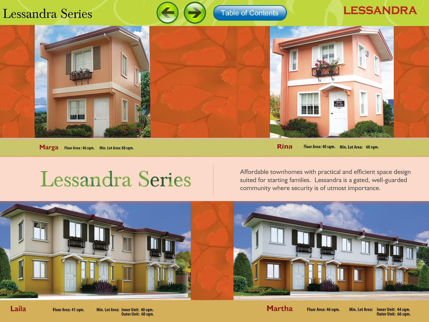 Carport Design Philippines Camella Homes Lessandra Series Townhouse Amp Single Attached