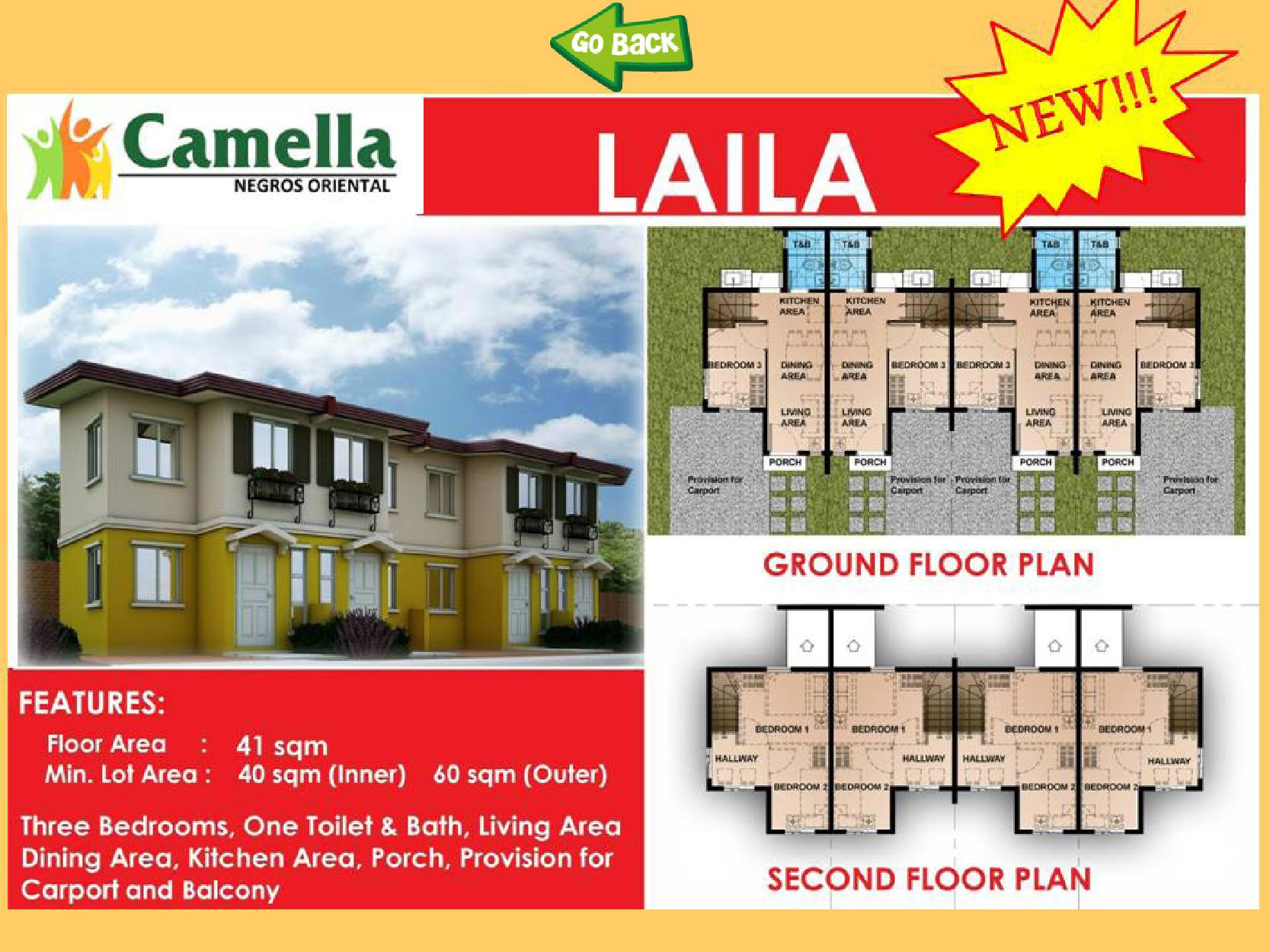 camella homes lessandra series townhouse single attached cebu dumaguete e brochure v4 page 020