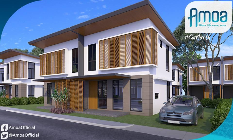 Amoa residences 2storey units compostela cebu cebu for Build a house for 75000