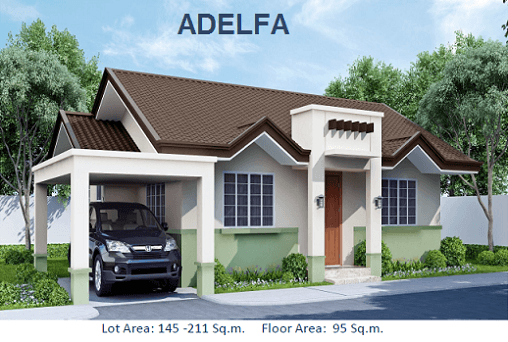 ADELFA MODEL - Total Contract Price: 5,596,360.00 House Details: Bungalow 3 Bedrooms ; 2 Toilet and Bath Living, Dining, Kitchen,Carport, Porch,Service Area Floor Area: 95sqm. Lot Area : 154sqm.