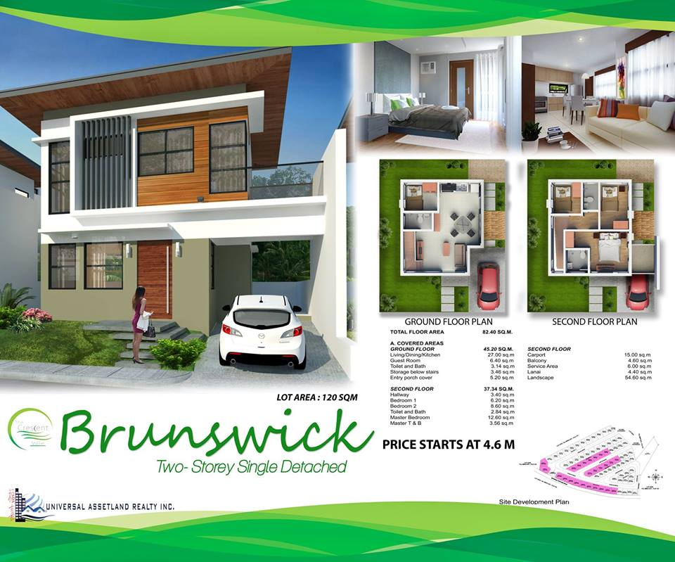 Single Detached Brunswick Model House Minglanilla Cebu Cebu Dream