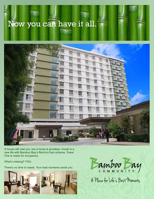 Rent To Own One Bedroom With Garden Unit Bamboo Bay Residences