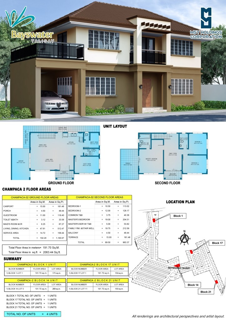 champaca 2 layout