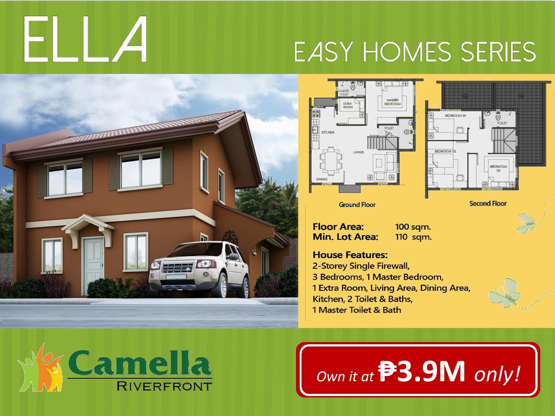 Martha model house camella