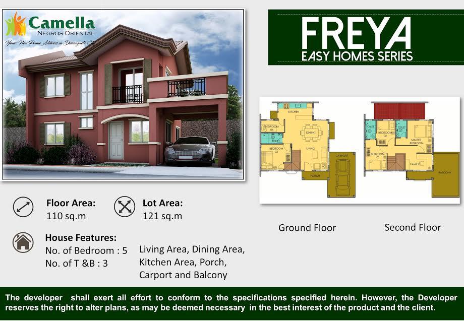 camella homes dumaguete house for sale freya model cebu. Black Bedroom Furniture Sets. Home Design Ideas