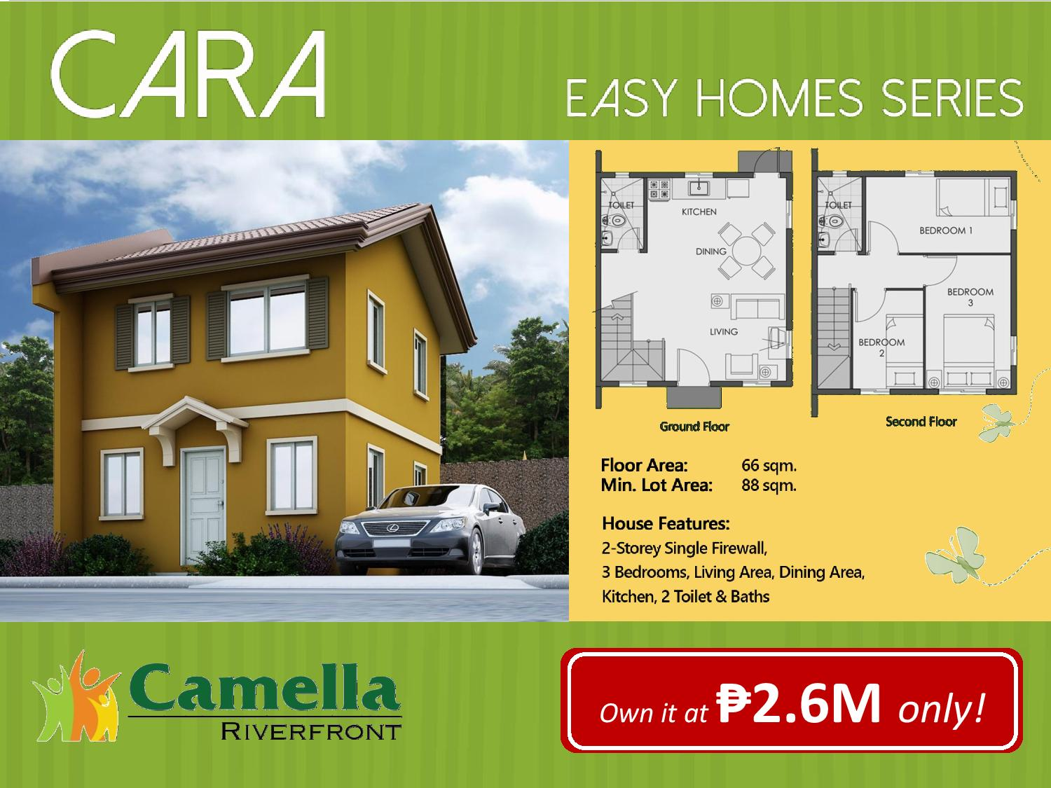 Camella Homes Talamban Riverfront Cara Model Cebu Dream