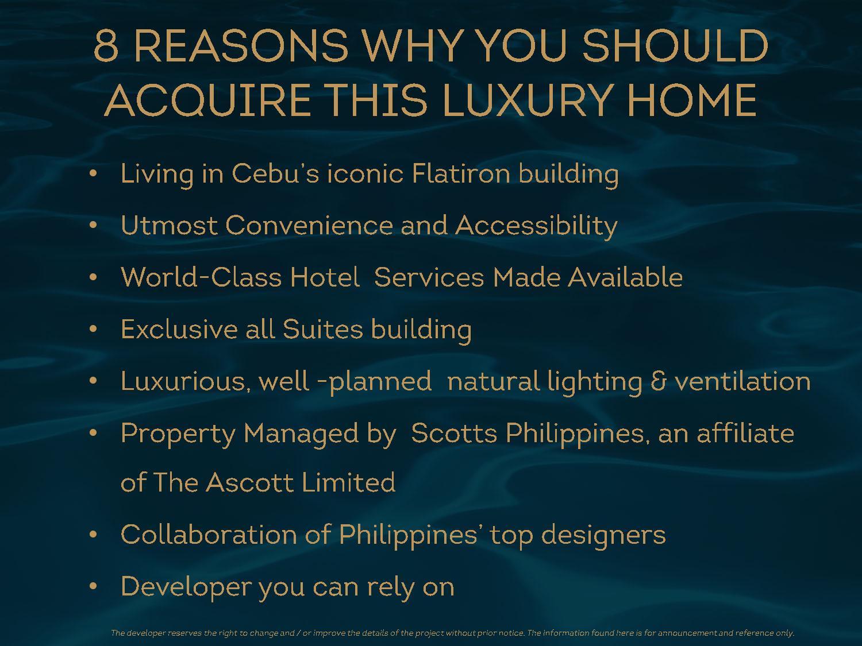The Suites at Gorordo Residential Suite Condo For Sale - Cebu Dream