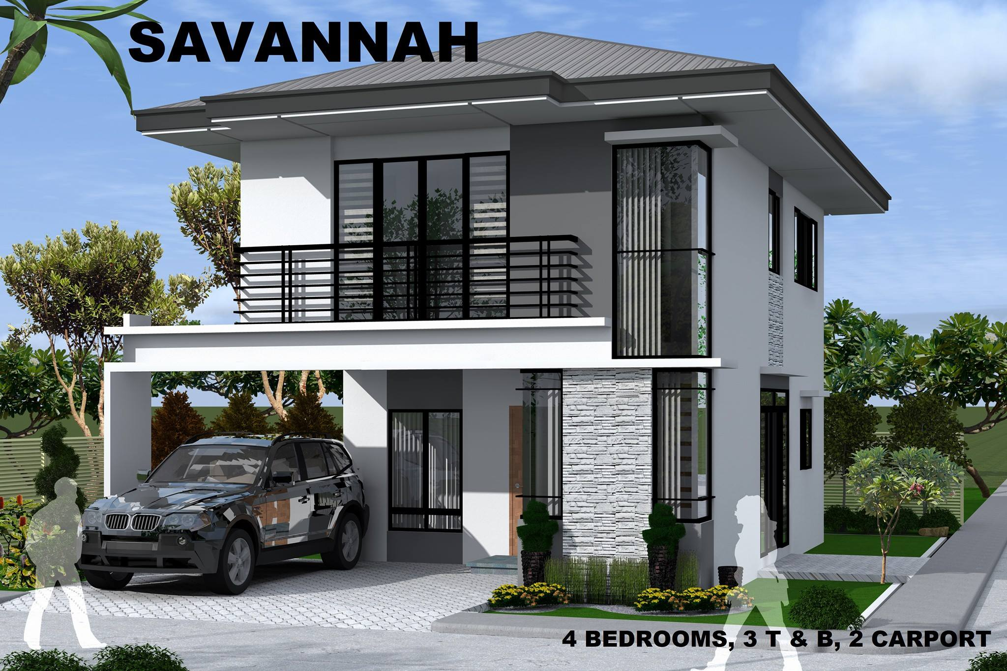 Modern single detached house for sale talamban near ateneo