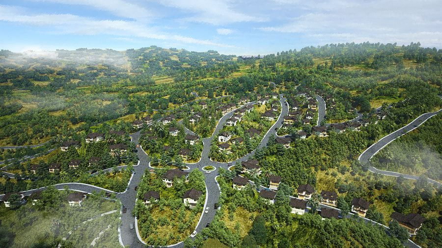 Foressa Mountain town Lot for sale Balamban Cebu